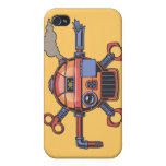 Pirata de Robo II iPhone 4/4S Fundas