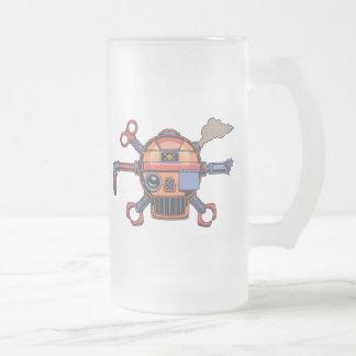 Pirata de Robo II Jarra De Cerveza Esmerilada
