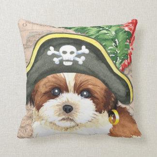 Pirata de Shih Tzu Almohada