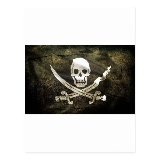 Pirata de Tête de mort Postales