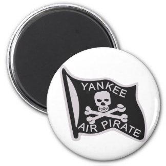 Pirata del aire del yanqui imán redondo 5 cm