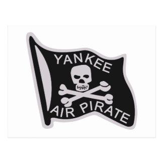 Pirata del aire del yanqui tarjeta postal