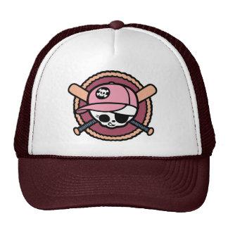 Pirata del béisbol - chicas gorros bordados