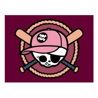 Pirata del béisbol - chicas postal