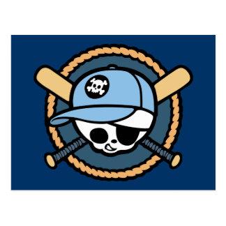 Pirata del béisbol - muchachos postales