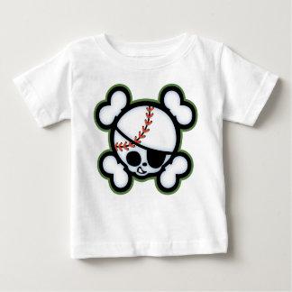 Pirata del béisbol - niños playera