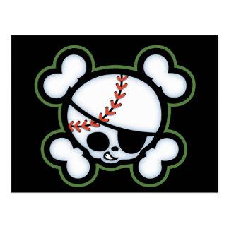 Pirata del béisbol - niños tarjetas postales