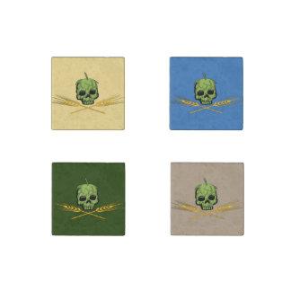 Pirata del brew casero imán de piedra