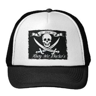pirata del bucko gorros