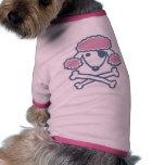 Pirata del caniche prenda mascota