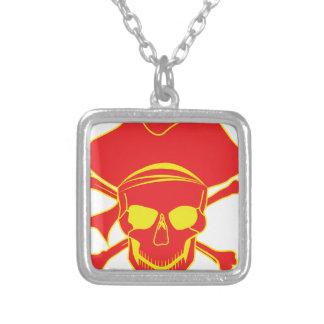 Pirata del cráneo pendiente personalizado