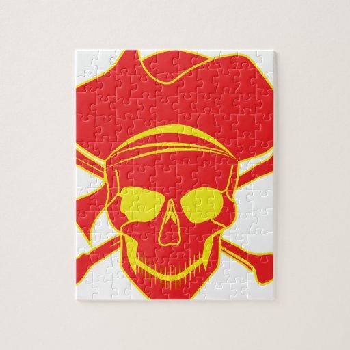 Pirata del cráneo puzzles