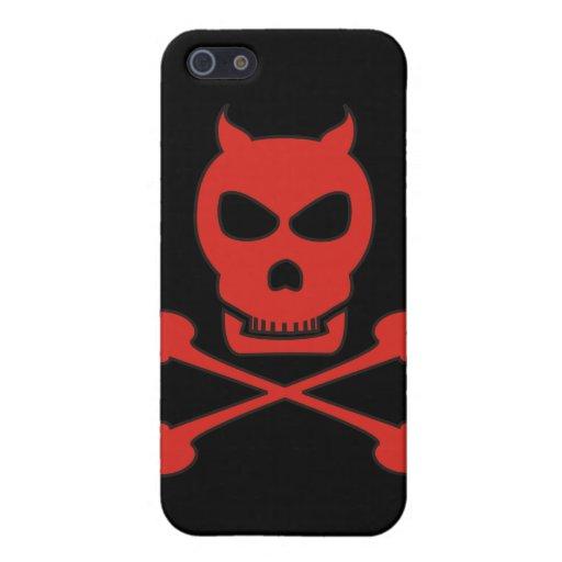 Pirata del diablo iPhone 5 funda