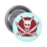 Pirata del diablo pins
