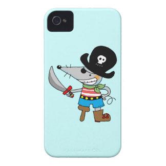 pirata del dibujo animado Case-Mate iPhone 4 funda