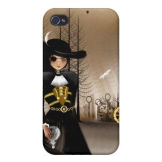 Pirata del dirigible del caso del iPhone del arte  iPhone 4 Funda
