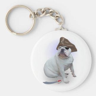Pirata del dogo llavero redondo tipo pin