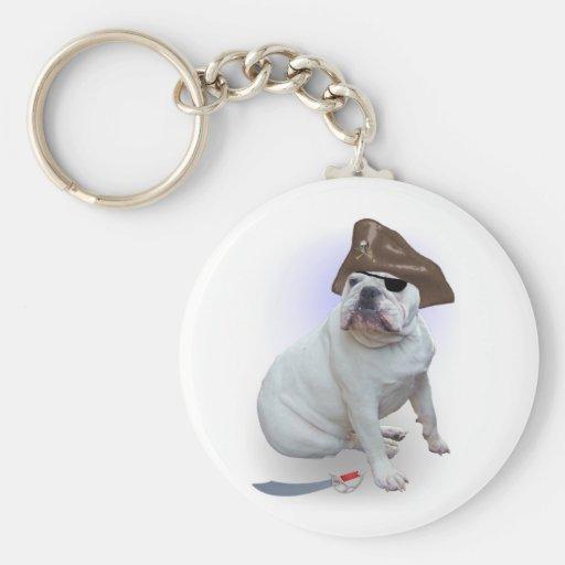 Pirata del dogo llaveros
