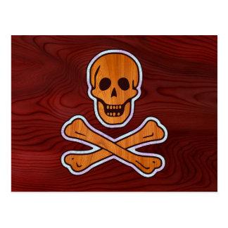 Pirata del embutido de la teca tarjeta postal