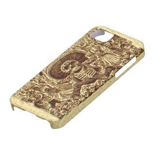 Pirata del esqueleto de Halloween iPhone 5 Case-Mate Carcasa