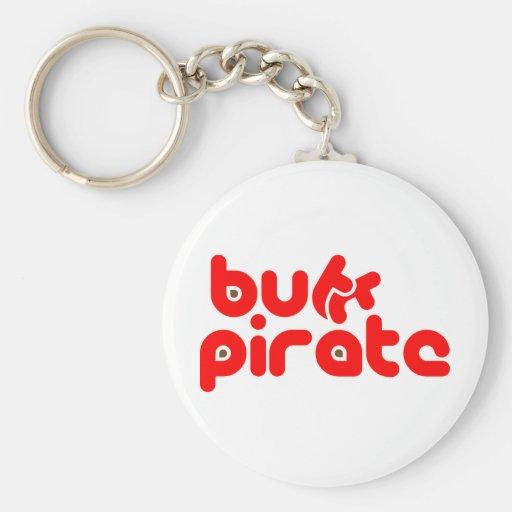 Pirata del extremo (versión 6) llavero redondo tipo pin