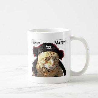 Pirata del gatito taza