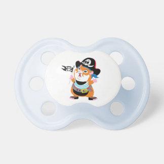 pirata del hámster chupete de bebé