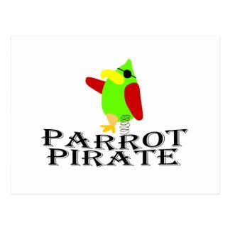 pirata del loro postal