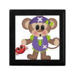 Pirata del mono caja de regalo