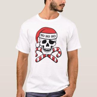 Pirata del navidad playera