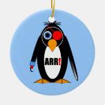 pirata del pingüino ornamentos para reyes magos