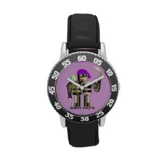 Pirata del robot reloj