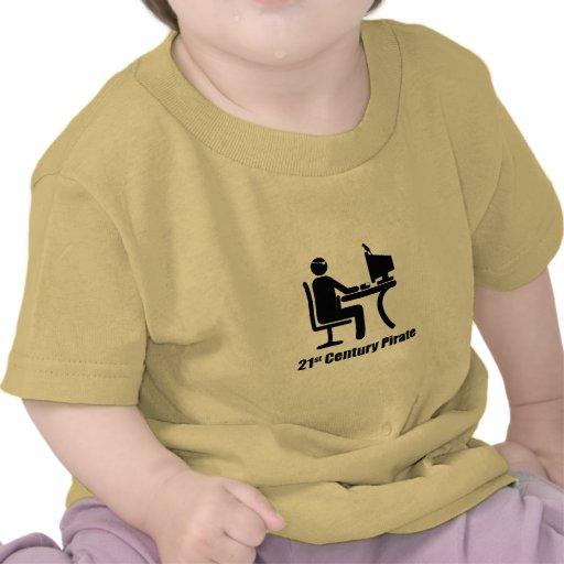 Pirata del siglo XXI Camiseta