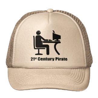 Pirata del siglo XXI Gorro De Camionero