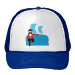 Pirata del sofá gorras de camionero