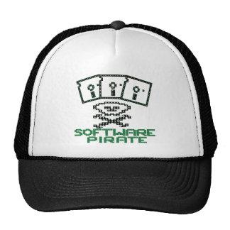 Pirata del software gorras