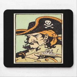 Pirata del vintage tapetes de raton