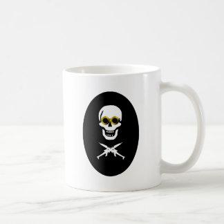 Pirata del zepelín taza de café