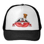 Pirata divertido del cangrejo gorras