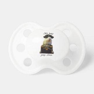 Pirata divertido del conejillo de Indias Chupetes De Bebé