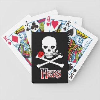 Pirata el suyo cartas de juego