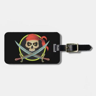 Pirata Etiquetas Para Equipaje