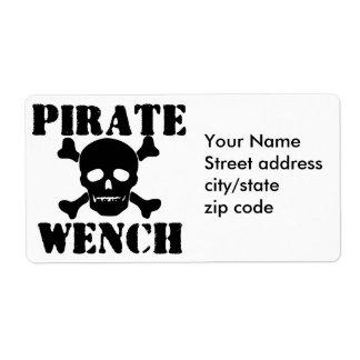 Pirata Etiquetas De Envío