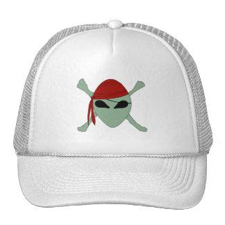 Pirata extranjero gorra