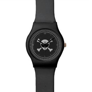 Pirata extranjero reloj de mano