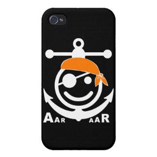 pirata iPhone 4 cárcasas