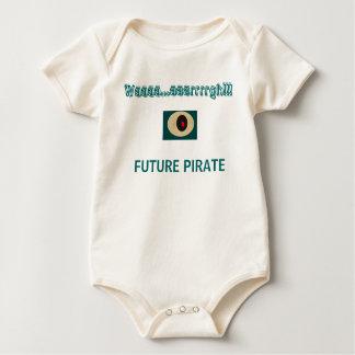 PIRATA FUTURO - onsie Body De Bebé