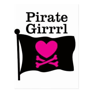 Pirata Girrrl Postal
