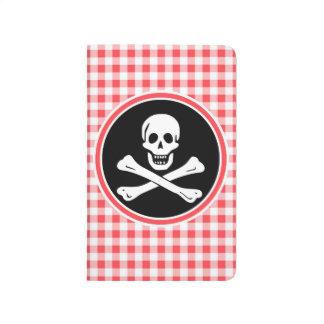 Pirata; Guinga roja y blanca Cuadernos Grapados