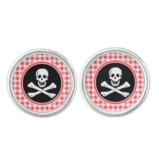 Pirata; Guinga roja y blanca Mancuernillas